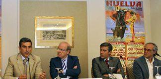 Carlos Pereda. Pedro Rodríguez, Óscar Polo y Salvador Boix. (FOTO: Iván de Andrés)