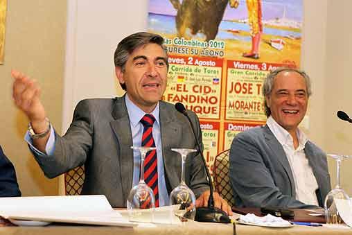 Óscar Polo y Salvador Boix, en ambiente relajado.