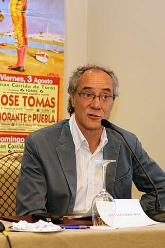 Salvador Boix, apoderado de José Tomás.