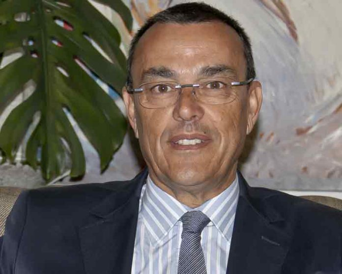 Ignacio Caraballo, presidente de la Diputación de Huelva.
