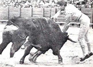 Estocada de Jaime Ostos.