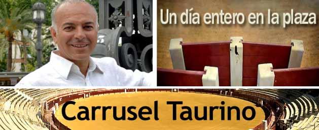 Juan Ramón Romero y su 'Carrusel Taurino'.