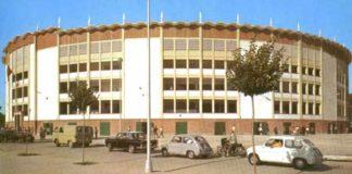 La preciosa y desaparecida Plaza Monumental de Huelva.