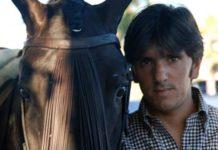 Diego Ventura, en su finca sevillana.