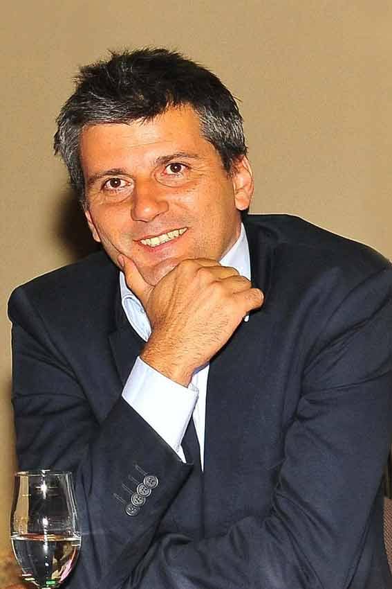El nuevo empresario, Jorge Buendía.