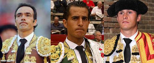 El Cid, Iván Fandiño y Daniel Luque.