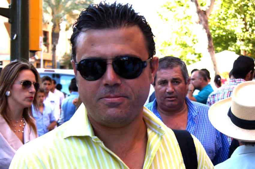 El banderillero taurino onubense Manolo Contreras.
