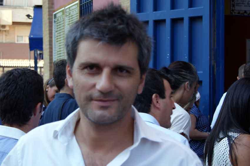 El empresario taurino onubense Jorge Buendía.