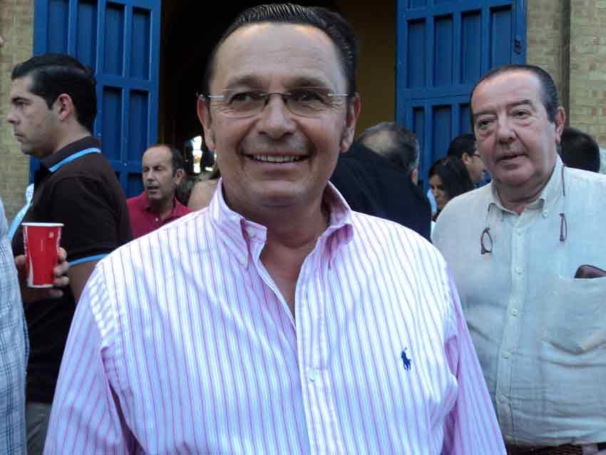 El torero y ganadero Antonio Rubio 'Macandro'.