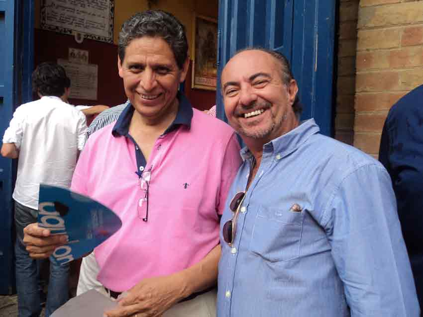 Humberto Parra y Juan Belmonte.
