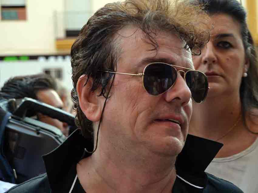 El músico Jaime Urrutia, de Gabinete Caligari.