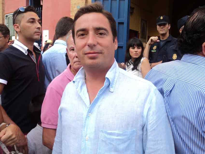 El empresario, ganadero y apoderado José María Garzón.