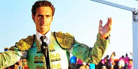 El novillero onubense Juan Ramón Jiménez.
