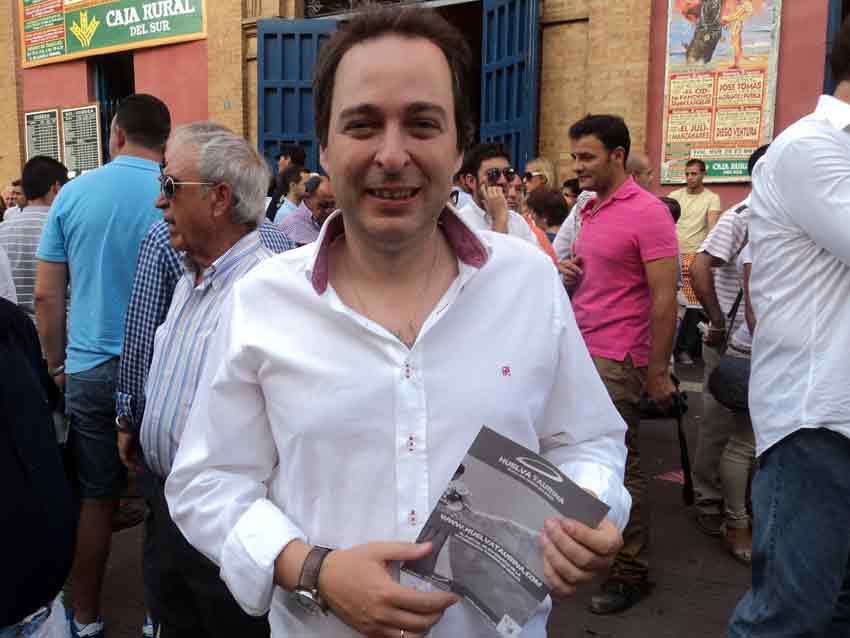 Manuel Remesal, concejal de Cultura y Deporte del Ayuntamiento.