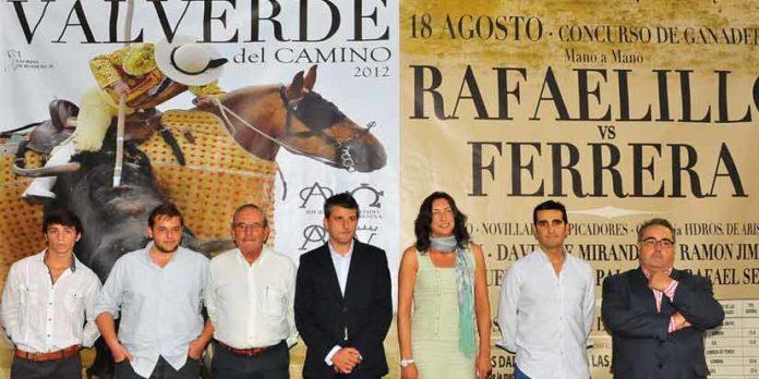 Presentación del cartel de la Feria de Valverde. (FOTO: Vicente Medero)