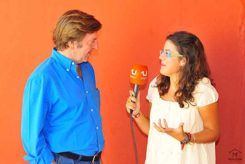Nuestra compañera Inma León entrevista a Curro Vázquez.