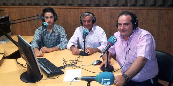 Alejandro Conquero, en el programa 'El Paseíllo'.