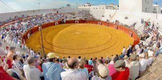 Vista de la plaza de toros de Ayamonte.