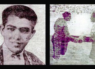 Diego Gómez 'Laine' recibió el doctorado en Écija de manos de Chicuelo y Juan Belmonte.