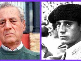 Dos imágenes del maestro Litri de distintas épocas, pero el mismo semblante de seriedad.