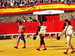 Un total de 22 paseíllos es el balance de la temporada 2012 en Huelva. (FOTO: Vicente Medero)