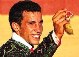 El novillero onubense David de Miranda. (FOTO: Vicente Medero)
