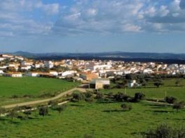 El pueblo onubense de Rosal de la Frontera.