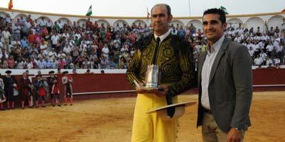 El picador Alonso Sánchez volverá a recoger hoy un nuevo premio en Valverde. (FOTO: valverdediario.es)