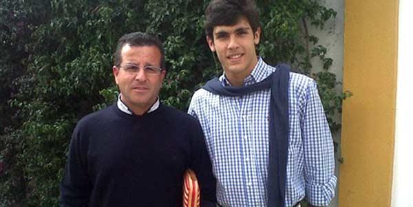 El onubense Domingo Moya y el sevillano Alejandro Pavón.