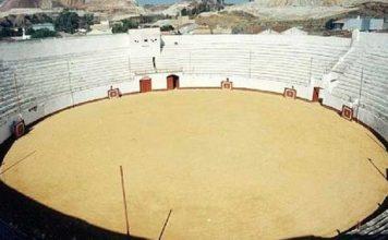 La plaza de toros de Nerva ha acogida varios años festejos taurinos en el periodo navideño.