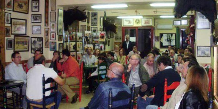 Salón de la Peña Cultural taurina de Zalamea.