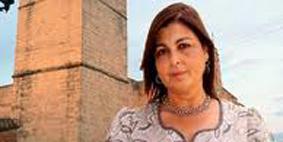 La alcaldesa de Villalba del Alcor, Manuela Daza.