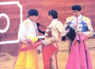 Alternativa de Emilio Silvera en las Colombinas de 1986.