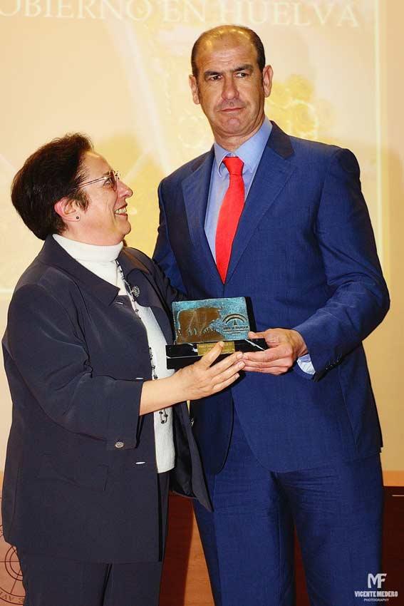 Trofeo a Alonso Sánchez.