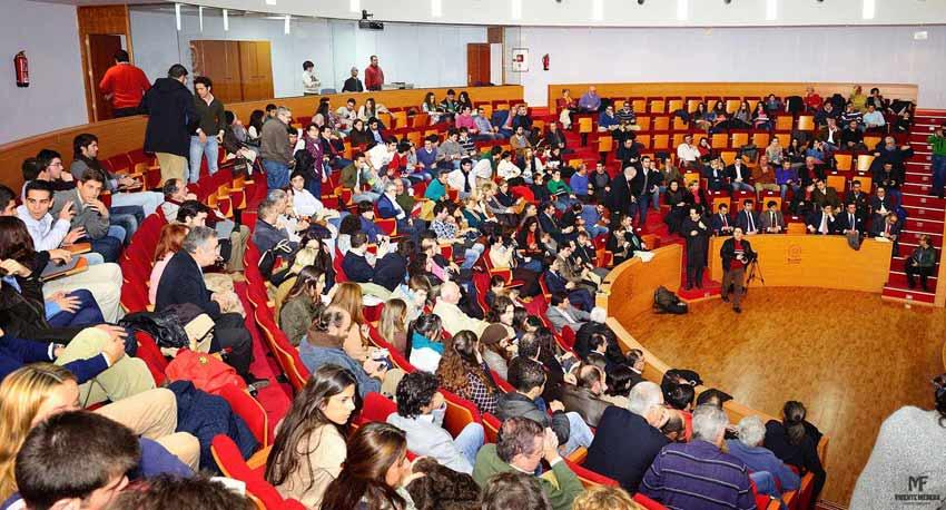 Acto de entrega de los premios taurinos provinciales 2012.