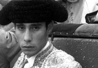 Un joven Antonio Borrero 'Chamaco'.