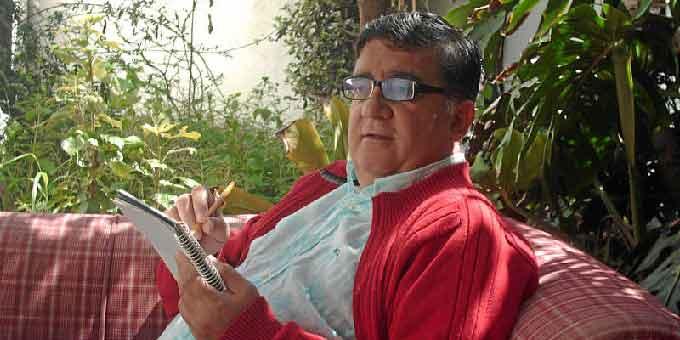 El literato onubense Bernardo Romero.
