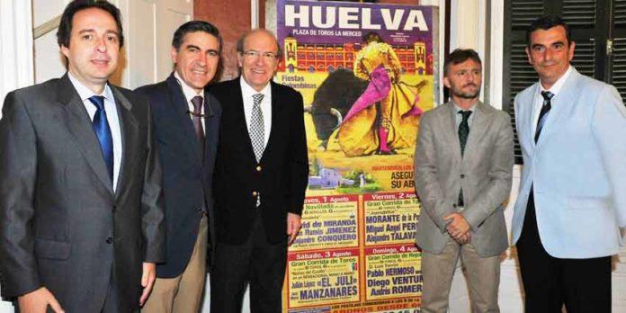 Acto de presentación de las Colombinas 2013 en Huelva. (FOTO: Vicente Medero)