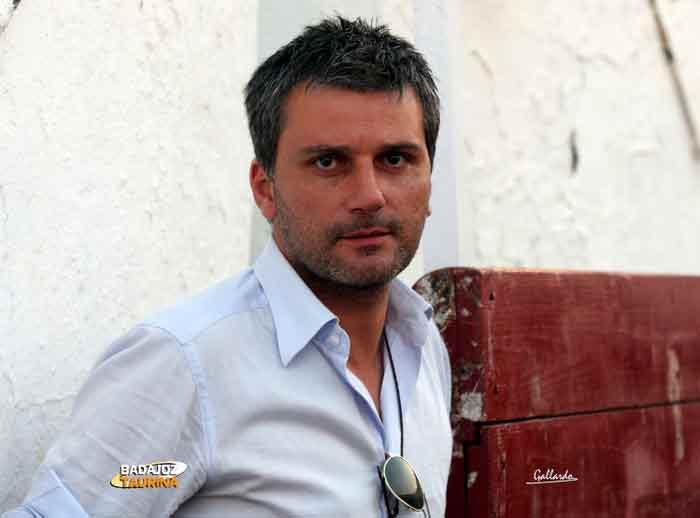 El empresario onubense Jorge Buendía, gerente del coso de Santa Olalla.