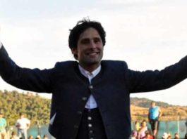 El rejoneador onubense Andrés Romero.