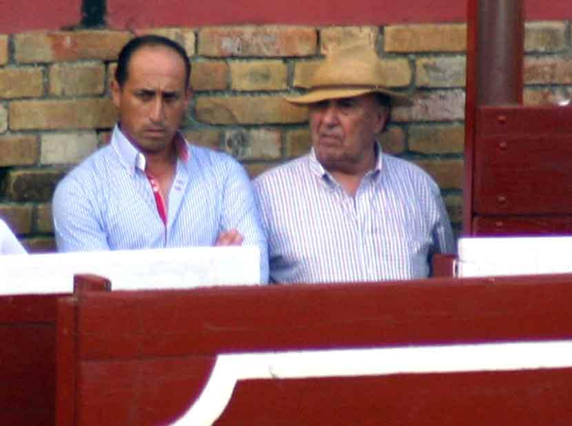 Los toreros Francisco Barroso y José Rodríguez 'El Pío'.