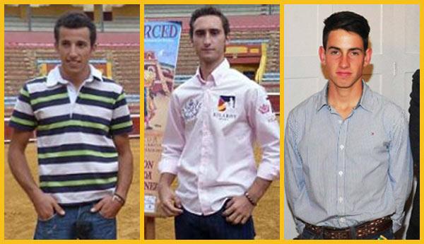 David de Miranda, Juan Ramón Jiménez y Alejandro Conquero, tres onubenses para abrir Colombinas.