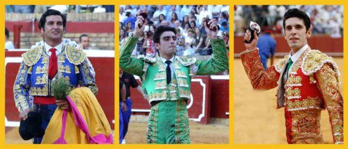 Morante, Perera y Talavante, esta tarde en La Merced.