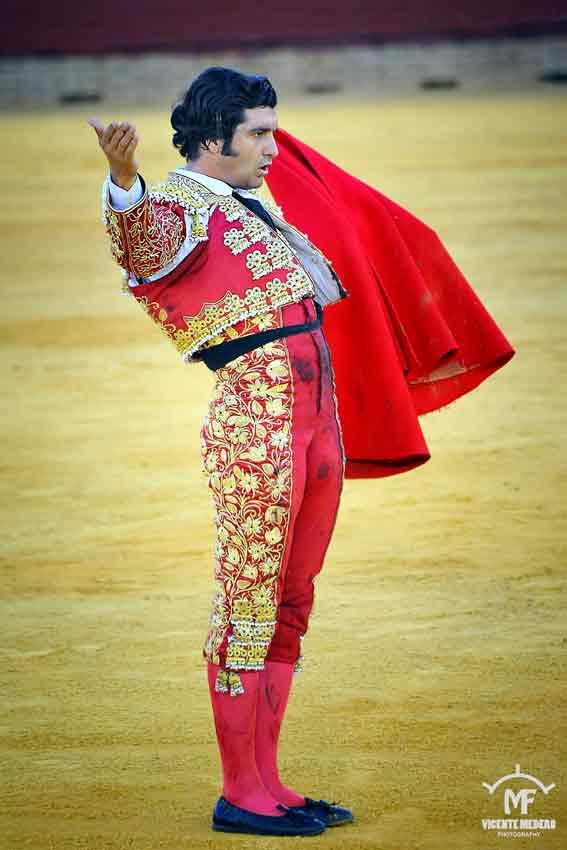 Morante de la Puebla ha realizado lo más brillante de la tarde en La Merced. (FOTO: Vicente Medero)