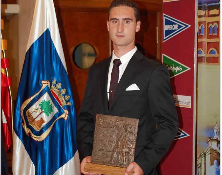 El joven onubense Juan Ramón Jiménez.