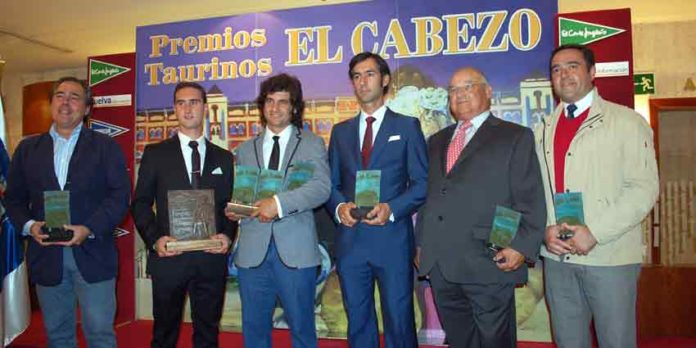 Los premiados en las últimas Colombinas. (FOTO: Pepe Plaza)