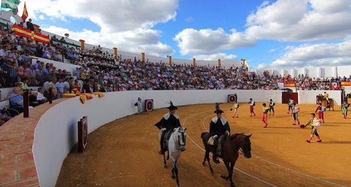 Plaza de toros de Zalamea la Real.
