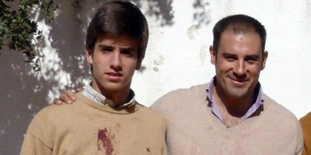 El nuevo Emilio Silvera con Miguel 'Litri'.