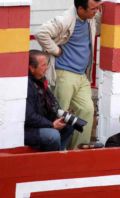 El fotógrafo Agustín Arjona.