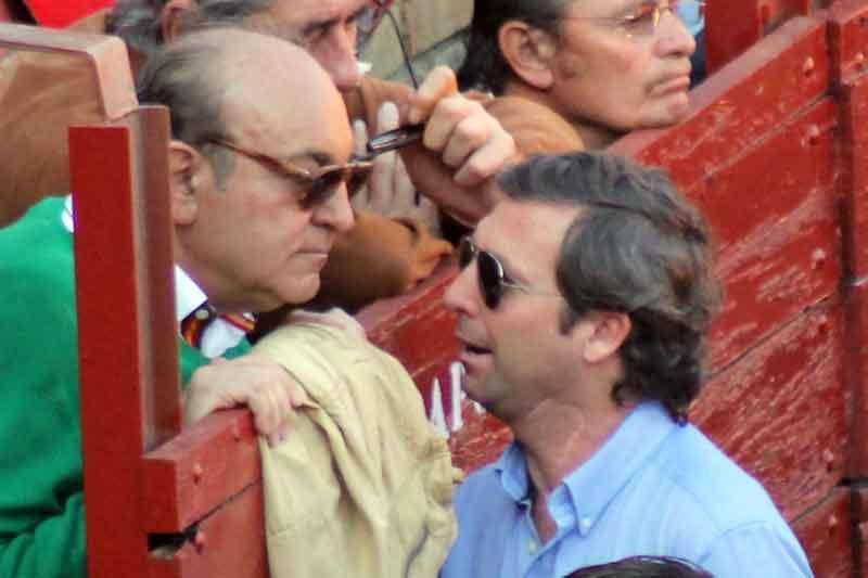 Manuel Tornay y Luis de Pauloba, apoderados de Lama.